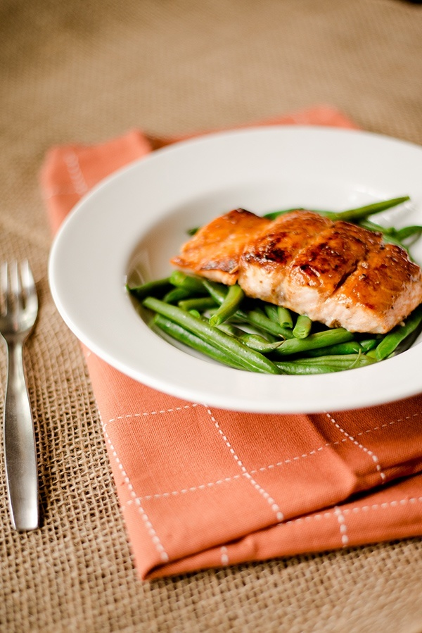 Pan-Roasted Salmon