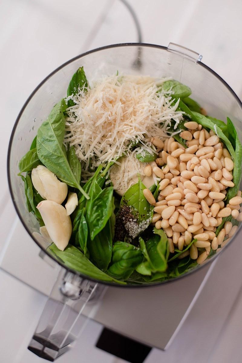 Pesto Sauce - Food Processor