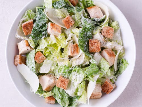 Chicken Caesar Salad Recipe Healthy