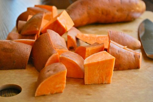 Mashed Sweet Potatoes recipe and image by Lacey Stevens-Baier, personal chef of Sweet Pea Chef