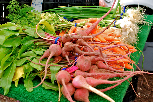 Review of Del Sur Farmers Market in San Diego by Lacey Stevens-Baier, personal chef of Sweet Pea Chef