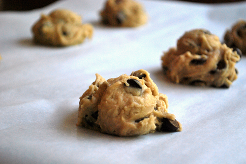Chewy Chocolate Chip Cookies recipe and image by Lacey Stevens-Baier, personal chef of Sweet Pea Chef