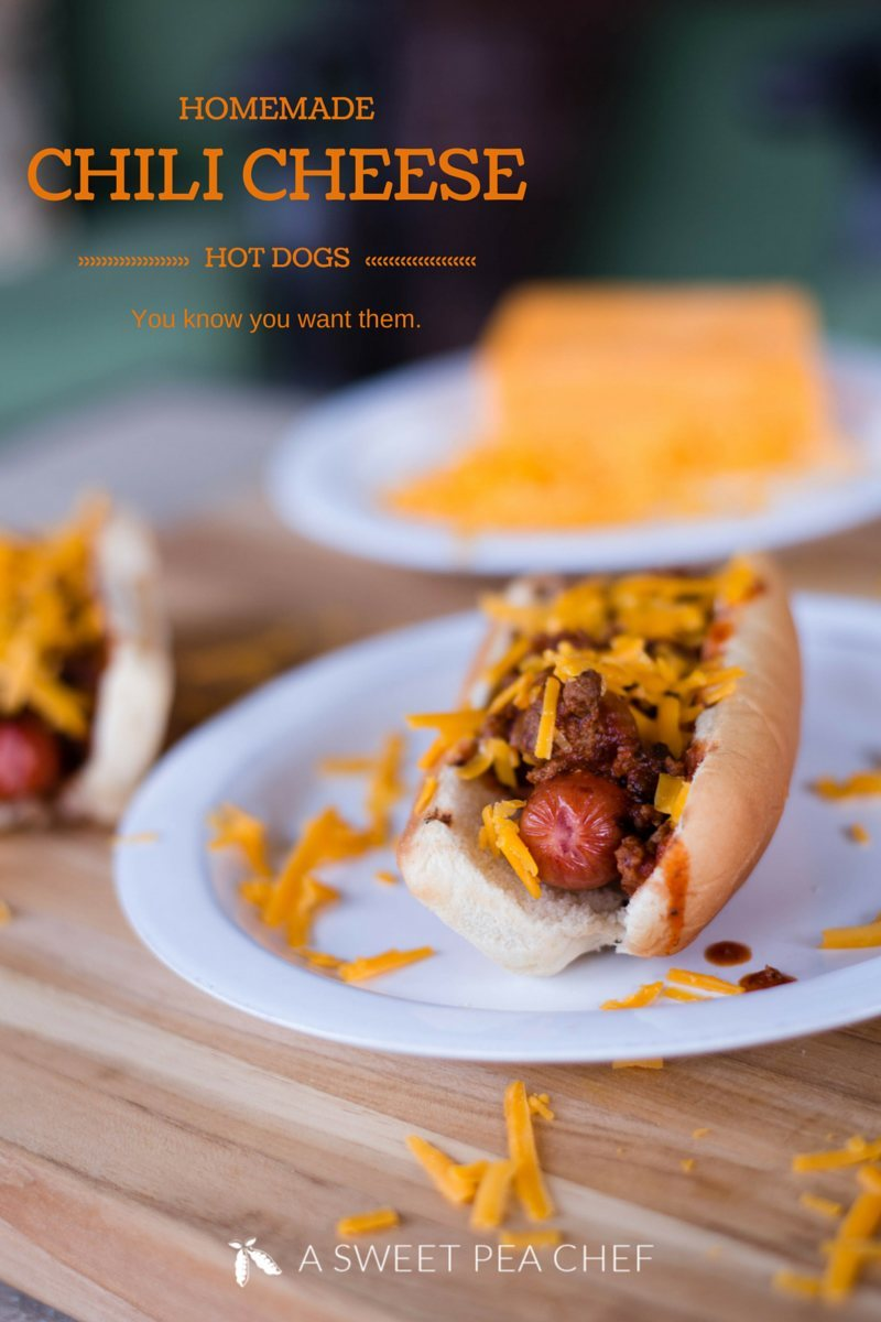 Homemade Chili Cheese Dog Recipe