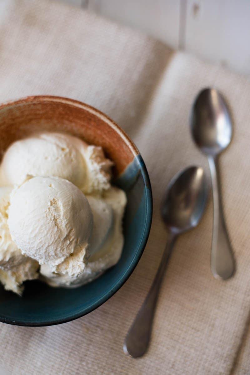 Homemade Vanilla Ice Cream • A Sweet Pea Chef on ice cream recipes for ice cream maker, ice cream recipes for cuisinart, ice cream maker for kitchenaid mixer, ice cream recipes without eggs, ice cream recipes for vitamix,
