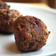 Italian Meatballs Square Recipe Preview Image