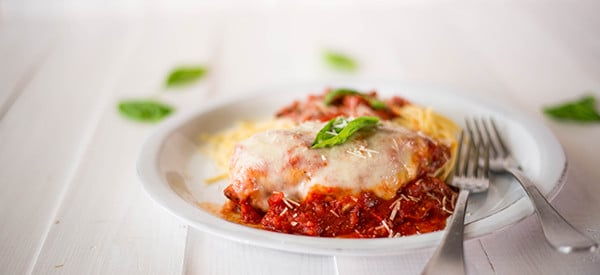 Chicken Parmesan - Plated