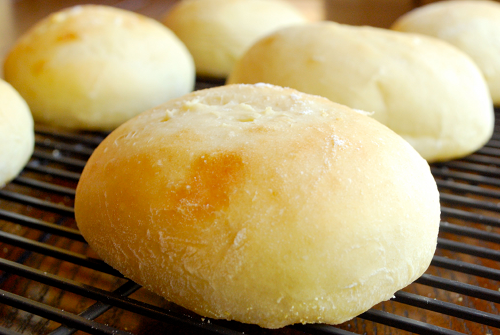 Egg Bread Buns recipe and image by Lacey Stevens-Baier, Sweet Pea Chef