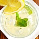 Homemade Mint Lemonade Square Recipe Preview Image