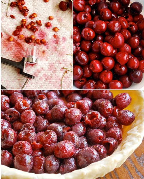 Sweet Cherry Pie • A Sweet Pea Chef
