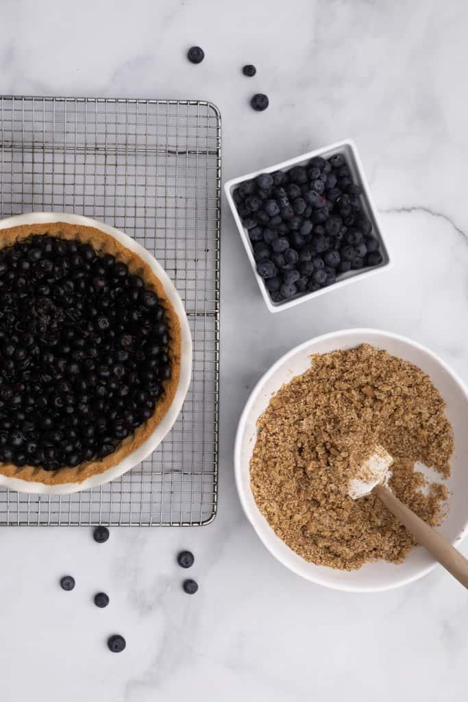 Healthy Blueberry Pie
