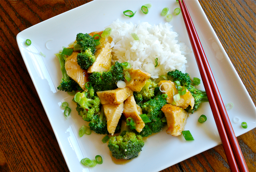 Easy Orange Chicken recipe and images by Lacey Stevens-Baier, a sweet pea chef