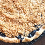 Blueberry Crumble Pie Square Recipe Preview Image