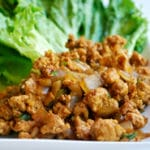 Chicken Lettuce Wraps Square Recipe Preview Image