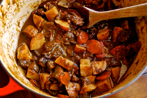 Hearty Beef Stew recipe by Lacey Baier, a sweet pea chef
