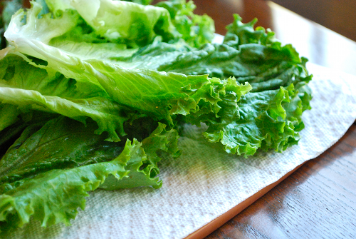 Chicken Lettuce Wraps recipe and images by Lacey Baier, a sweet pea chef