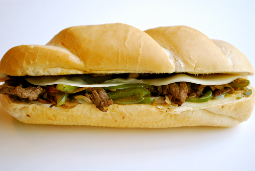 Philly Cheesesteaks recipe and images by Lacey Baier, a sweet pea chef