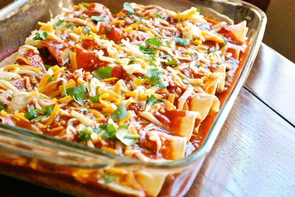 Shredded Chicken Enchiladas - Ready To Bake