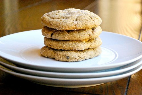 Soft Ginger Cookies recipe and images by Lacey Baier, a sweet pea chef