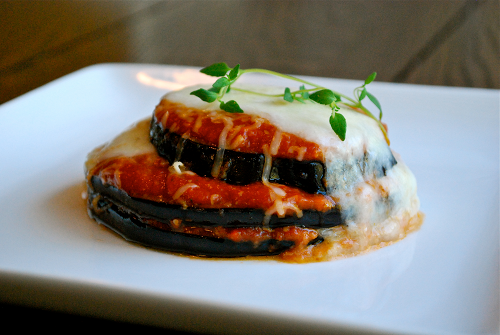 Eggplant Parmesan recipe by Lacey Baier, a sweet pea chef