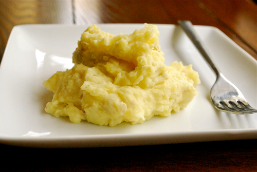 Parmesan Mashed Potatoes recipe by Lacey Baier, a sweet pea chef