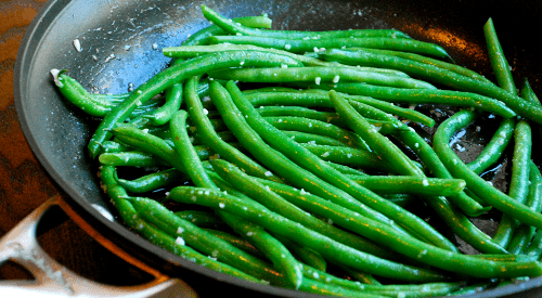 Garlic Parmesan Green Beans