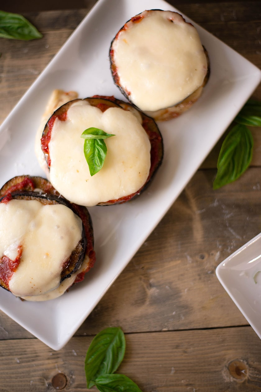 Easy Baked Eggplant Parmesan