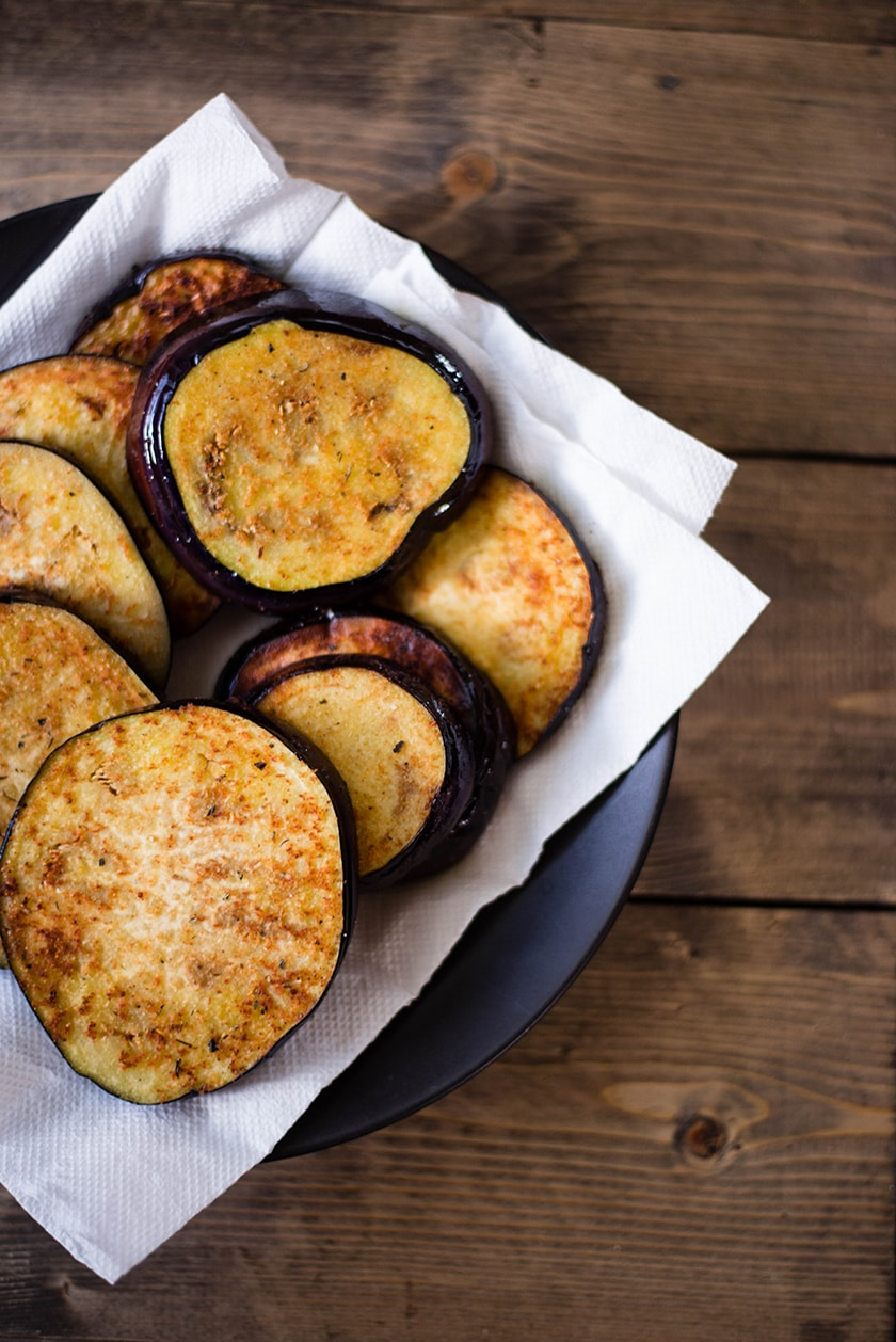 Easy Baked Eggplant Parmesan - Ready To Assemble