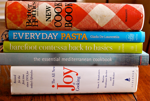 Some of my favorite cookbooks