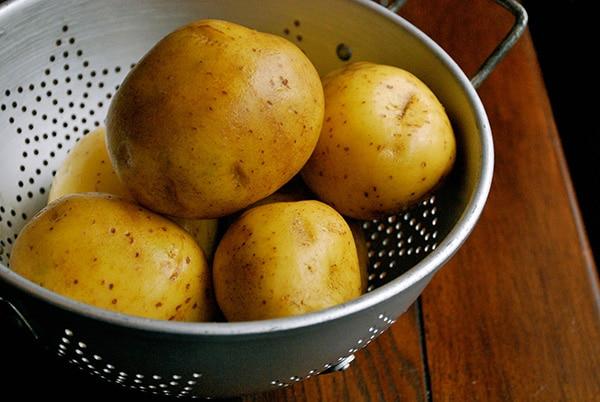Parmesan Mashed Potatoes - Yukon Gols Potatoes
