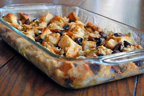 Thanksgiving Stuffing recipe by Lacey Baier, a sweet pea chef