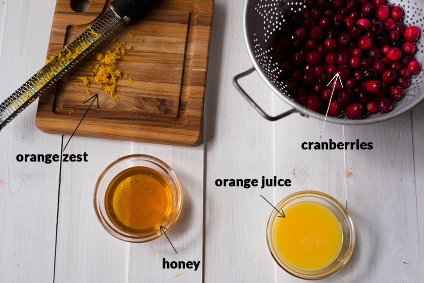 Best Homemade Cranberry Sauce - The Ingredients