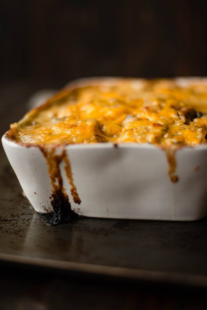 Cheesy Au Gratin Potatoes - Baked