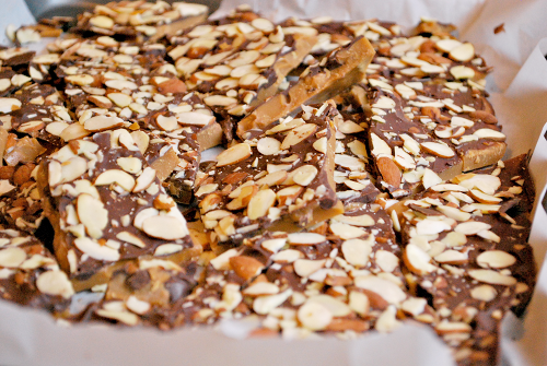 How to Make Toffee recipe and images by Lacey Baier, a sweet pea chef