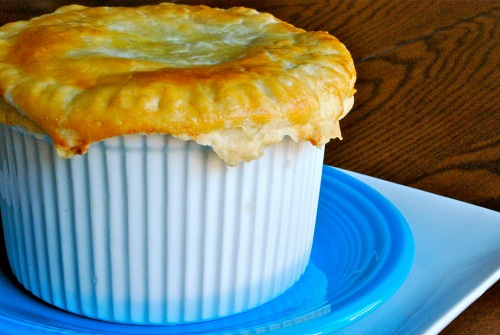 Chicken Pot Pies recipe and images by Lacey Baier, a sweet pea chef
