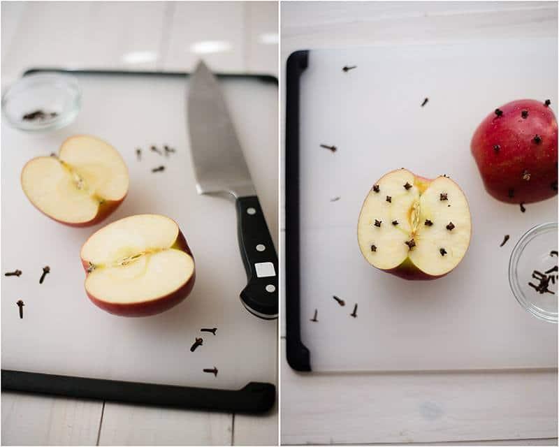 Easy Hot Apple Cider Recipe - Preparing Apple