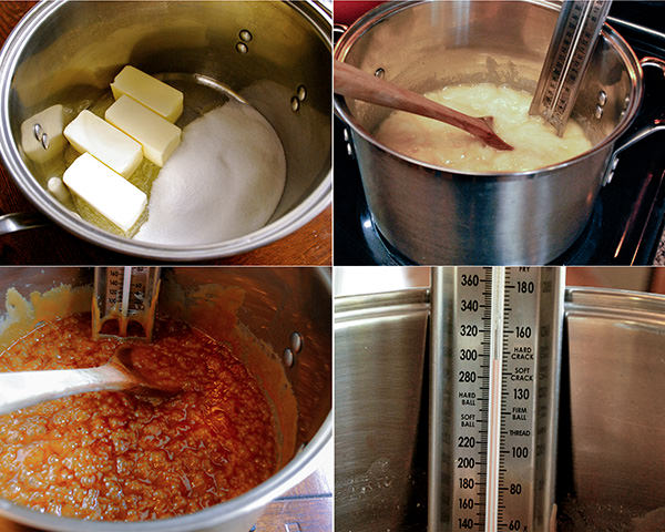 How To Make Toffee - Cooking the sugar and butter