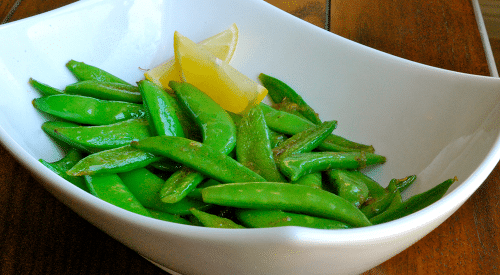 Lemon Snap Peas
