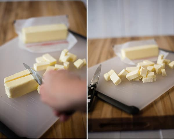 Pie Crust Recipe - Cutting the Butter