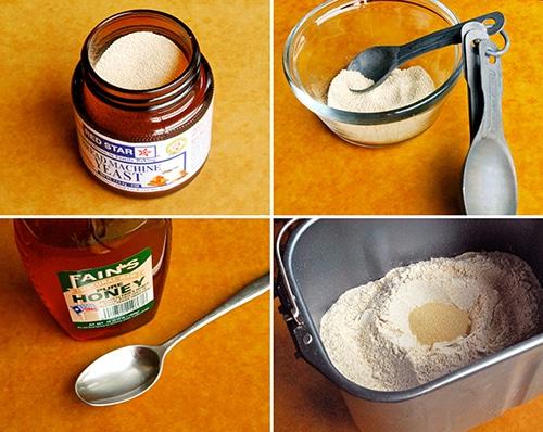 Honey Whole Wheat Pizza Dough