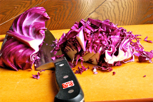 Asian Coleslaw recipe and images by Lacey Baier, a sweet pea chef