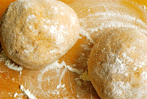 Honey Whole Wheat Pizza Dough recipe and images by Lacey Baier, a sweet pea chef