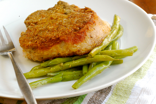 Best Pork Chops recipe and images by Lacey Baier, a sweet pea chef