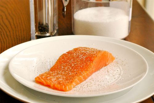 Salmon Teriyaki recipe and images by Lacey Baier, a sweet pea chef