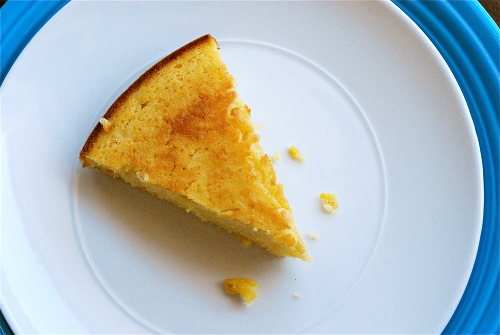 Sweet Cornbread recipe and images by Lacey Baier, a sweet pea chef