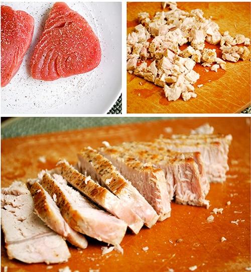 Fresh Tuna Melt