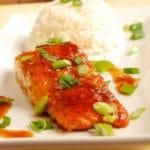 Salmon Teriyaki Square Recipe Preview Image