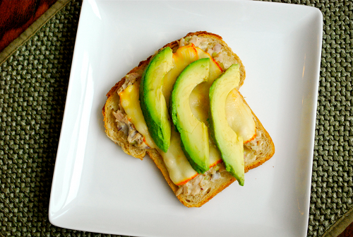 Tuna Melt recipe and images by Lacey Baier, a sweet pea chef