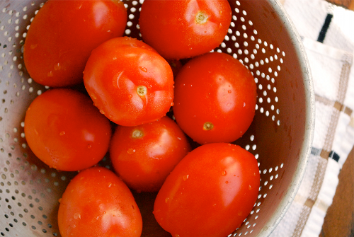 Roasted Tomato Sauce recipe and images by Lacey Baier, a sweet pea chef