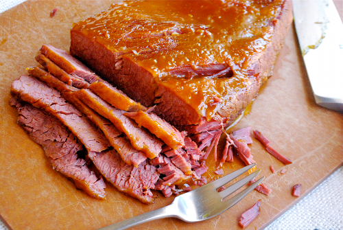 Corned Beef and Cabbage recipe and images by Lacey Baier, a sweet pea chef