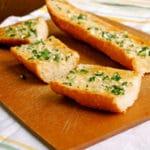 Homemade Garlic Bread Square Recipe Preview Image